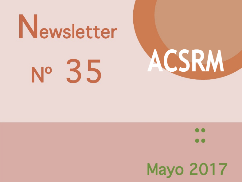 Newsletter No. 35 | Mayo de 2017